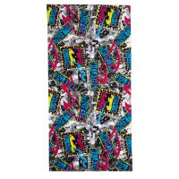 BILLABONG REISSUE LARGE BEACH TOWEL BLACK