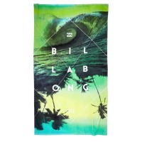 BILLABONG PANORAMA XLARGE BEACH TOWEL BLACK