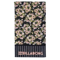 BILLABONG UNLIMITED BEACH TOWEL BLACK PEBBLE