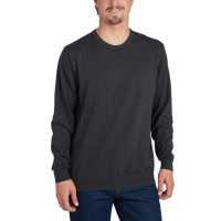 BILLABONG ALL DAY CREW BLACK HEATHER