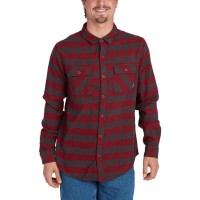 BILLABONG ALL DAY FLANNEL LS SHIRT BLOOD