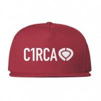 CIRCA DIN ICON SNAPBACK CAP RED