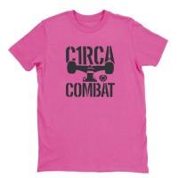 CIRCA COMBAT T-SHIRT PINK