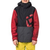 HORSEFEATHERS FALCON KIDS SNOW JACKET RED