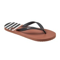 REEF SWITCHFOOT PRINTS SANDALS RED/BLACK