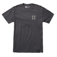 REEF CATCH TEE FADED BLACK