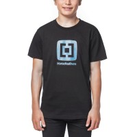 HORSEFEATHERS FAIR KIDS T-SHIRT BLACK