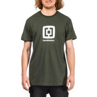 HORSEFEATHERS FAIR T-SHIRT OLIVE
