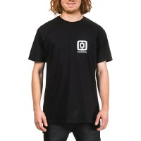 HORSEFEATHERS MINI LOGO T-SHIRT BLACK