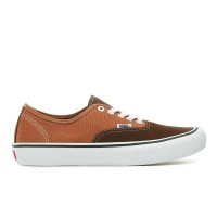 VANS AUTHENTIC PRO SHOES POTTING SOIL/LEATHER BROWN