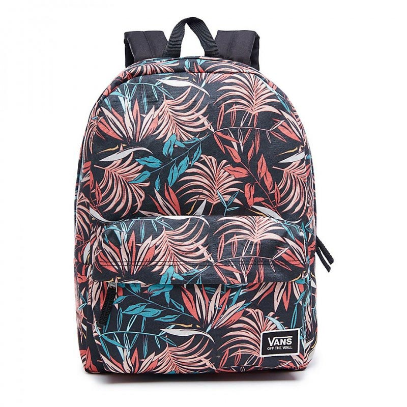 -30% VANS REALM CLASSIC BACKPACK BLACK CALIFORNIA FLORAL Women Backpacks 35760acf4897e