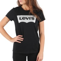 LEVIS THE PERFECT TEE HOLIDAY TEE BLACK