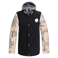 DC DCLA SNOW JACKET INCENSE DCU CAMO MEN