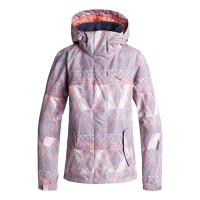 ROXY JETTY SNOW JACKET MINIMAL GREY_MOSAIC