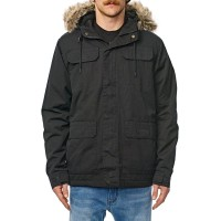 GLOBE GOODSTOCK THERMAL W19 PARKA JACKET BLACK