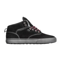 GLOBE MOTLEY MID SHOES BLACK/PHANTOM/FUR