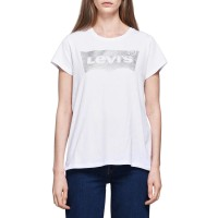 LEVIS THE PERFECT TEE HOLIDAY TEE WHITE