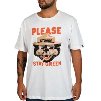 THE DUDES STAY GREEN T-SHIRT OFF-WHITE