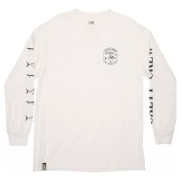 SALTY CREW SURFACE STANDARD L/S TEE WHITE