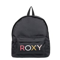 ROXY SUGAR BABY LOGO BACKPACK ANTHRACITE