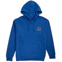 TOY MACHINE MONSTER EMBROIDERED HOODIE ROYAL