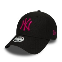 NEW ERA 9FORTY DIAMOND ERA CAP NY YANKEES BLK/BEETROOT PURPLE