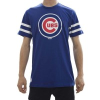 NEW ERA MLB TEAM LOGO TEE CHICAGO CUBS LIGHT ROYAL