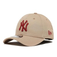 NEW ERA 9FORTY LEAGUE ESSENTIAL CAP NY YANKEES CAMEL/HOT RED
