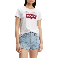 LEVIS PEANUTS HSMK Τ3 W TEE WHITE