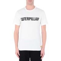 CATERPILLAR CLASSIC TEE WHITE