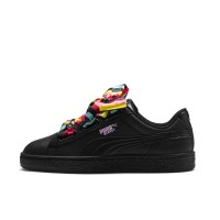 PUMA BASKET HEART GENERATION HUSTLE W SNEAKERS BLK/PNK