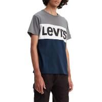 LEVIS COLORBLOCK TEE QUIET SHADE/WHITE/DRESS BLUES