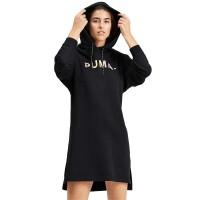 PUMA CHASE W HOODED DRESS BLACK