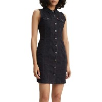 LEVIS SL SHORT AUBREY DRESS SHINY HAPPY PEOPLE X