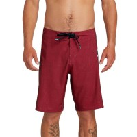 "VOLCOM DEADLY STONES 20"" BOARDSHORT BURGUNDY"