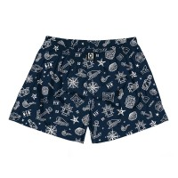 HORSEFEATHERS MANNY BOXER SHORTS SAILOR