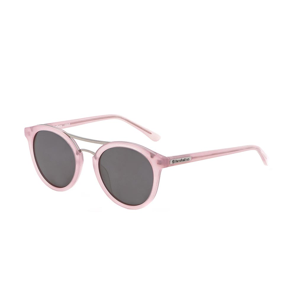 df04e160d5 HORSEFEATHERS NOMAD SUNGLASSES GLOSS ROSE MIRROR CHAMPAGNE