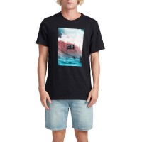 BILLABONG SECTION TEE BLACK