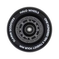 SLAMM HALO DEEP DISH WHEELS BLACK 110mm