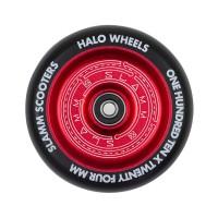 SLAMM HALO DEEP DISH WHEELS RED 110mm