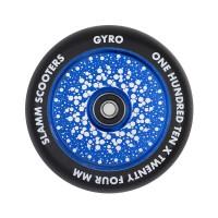 SLAMM GYRO HOLLOW CORE WHEELS BLUE 110mm