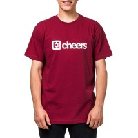 HORSEFEATHERS SKAL T-SHIRT RED