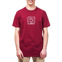 HORSEFEATHERS GIDEON T-SHIRT RED