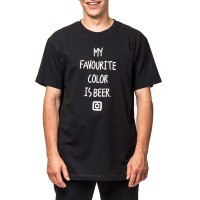 HORSEFEATHERS COLOR T-SHIRT BLACK
