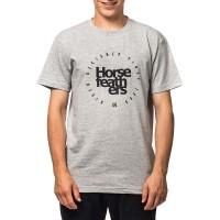 HORSEFEATHERS DENK T-SHIRT ASH