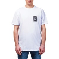 HORSEFEATHERS MINI LOGO T-SHIRT WHITE
