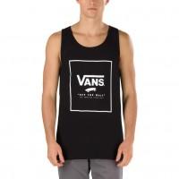 VANS PRINT BOX TANK BLACK/WHITE