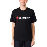 ELEMENT BLAZIN TEE FLINT BLACK