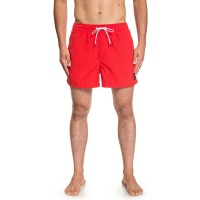 "QUIKSILVER EVERYDAY VOLLEY 15"" SWIM SHORTS HIGH RISK RED"