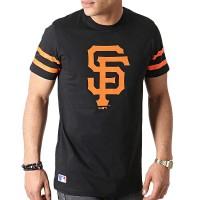 NEW ERA MLB TEAM LOGO TEE SAN FRANCISCO GIANTS BLACK